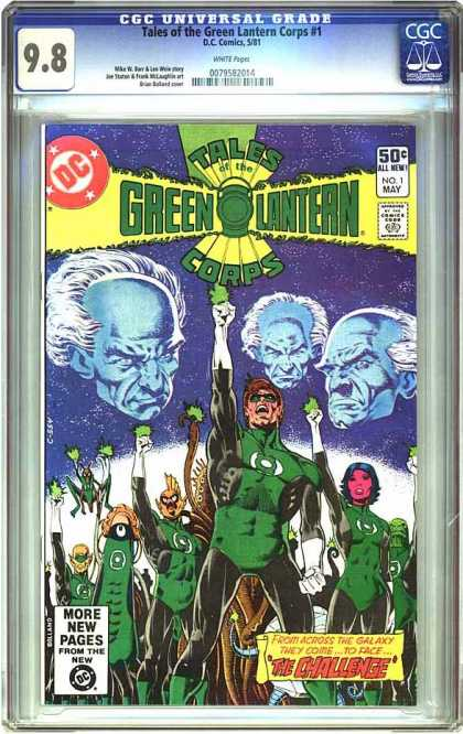 CGC Graded Comics - Tales of the Green Lantern Corps #1 (CGC)