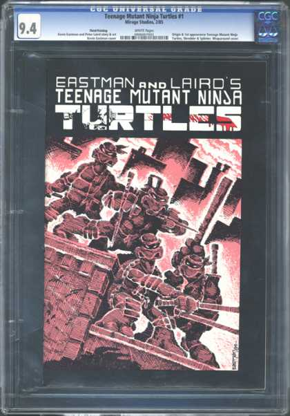 CGC Graded Comics - Teenage Mutant Ninja Turtles #1 (CGC)
