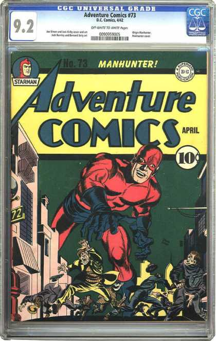 CGC Graded Comics - Adventure Comics #73 (CGC)