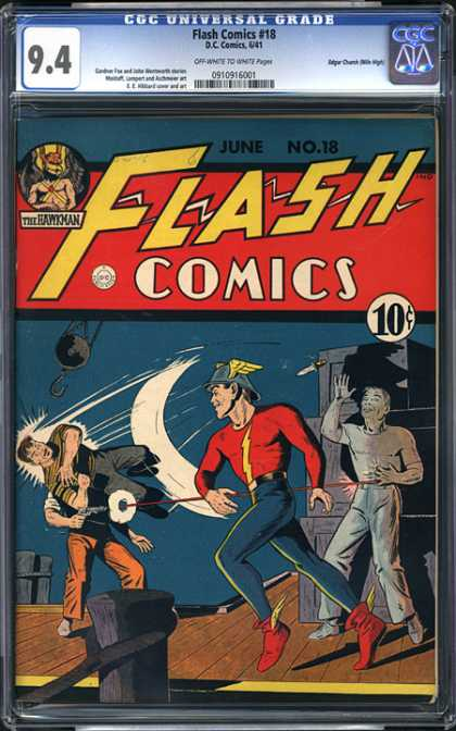 CGC Graded Comics - Flash Comics #18 (CGC)