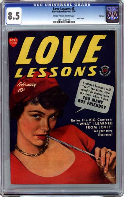 CGC Graded Comics - Love Lessons #3 (CGC)