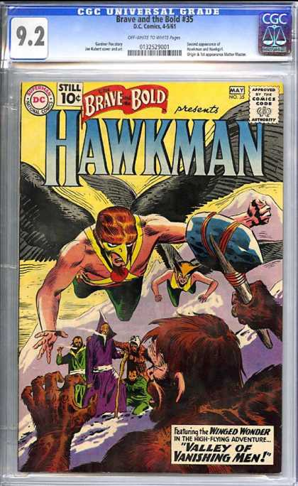 CGC Graded Comics - Brave and the Bold #35 (CGC)