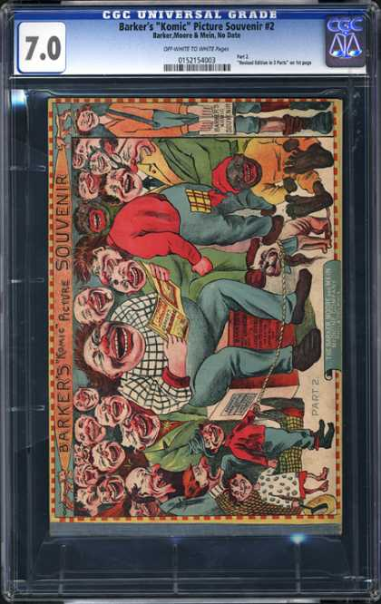"CGC Graded Comics - Barker's ""Komic"" Picture Souvenir #2 (CGC)"