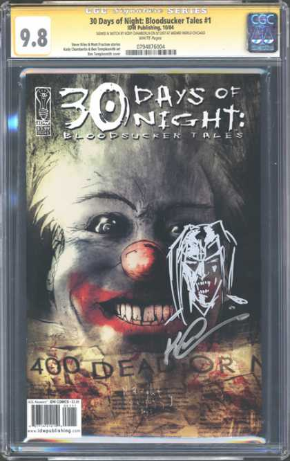 CGC Graded Comics - 30 Days of Night: Bloodsucker Tales #1 (CGC)