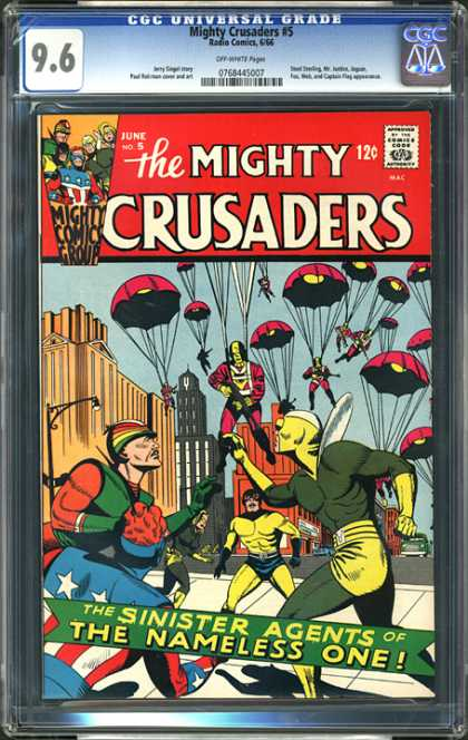 CGC Graded Comics - Mighty Crusaders #5 (CGC)