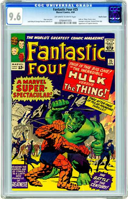 CGC Graded Comics - Fantastic Four #25 (CGC)