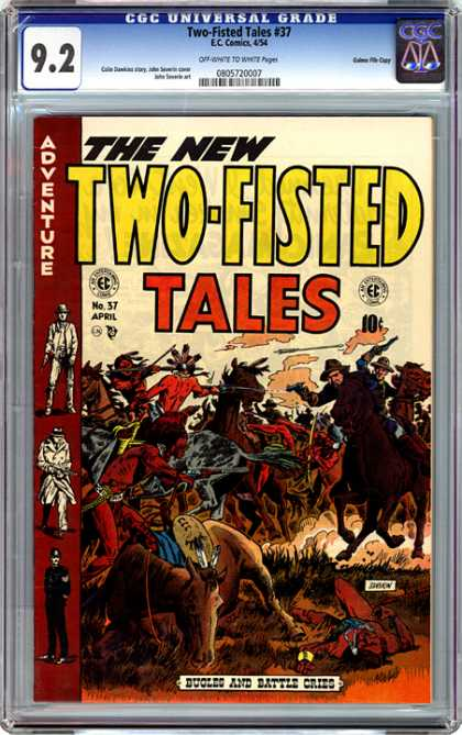 CGC Graded Comics - Two-Fisted Tales #37 (CGC)