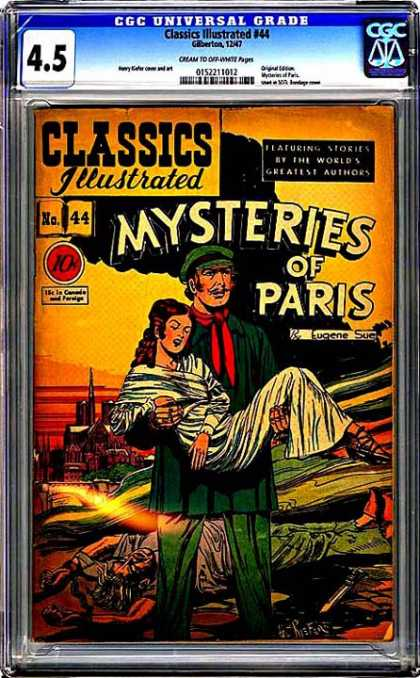 CGC Graded Comics - Classics Illustrated #44 (CGC)