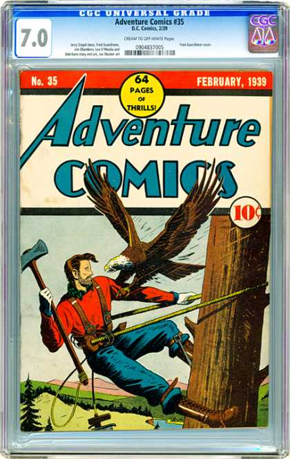 CGC Graded Comics - Adventure Comics #35 (CGC)