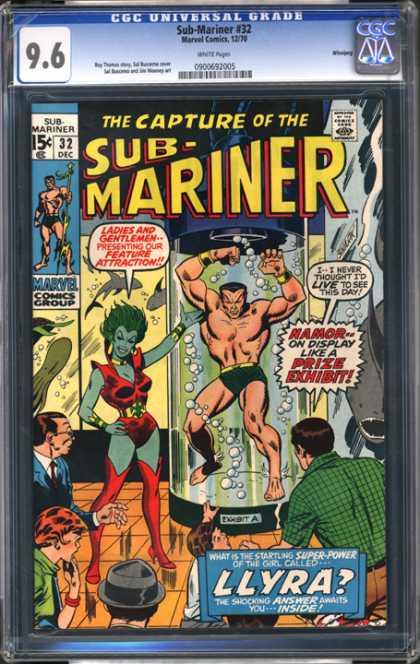 CGC Graded Comics - Sub-Mariner #32 (CGC)