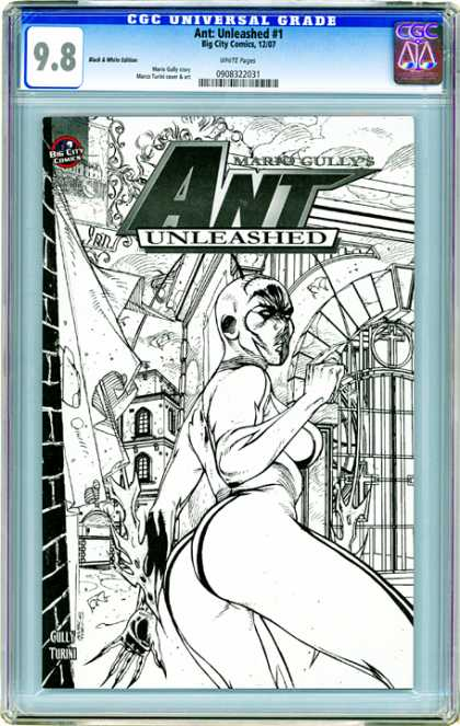 CGC Graded Comics - Ant: Unleashed #1 (CGC)