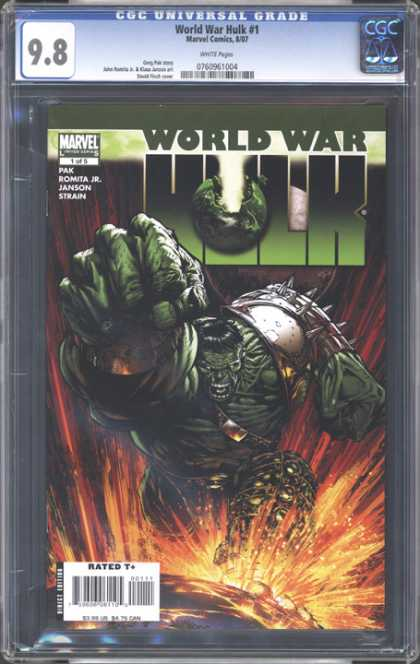 CGC Graded Comics - World War Hulk #1 (CGC)