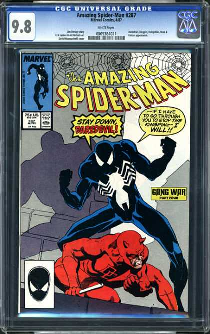 CGC Graded Comics - Amazing Spider-man #287 (CGC)