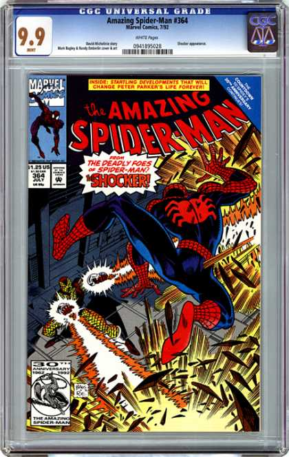 CGC Graded Comics - Amazing Spider-Man #364 (CGC)