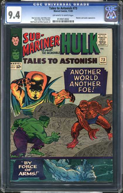 CGC Graded Comics - Tales to Astonish #73 (CGC)