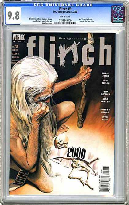 CGC Graded Comics - Flinch #9 (CGC)
