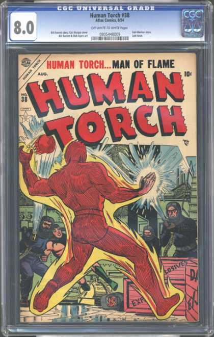 CGC Graded Comics - Human Torch #38 (CGC)