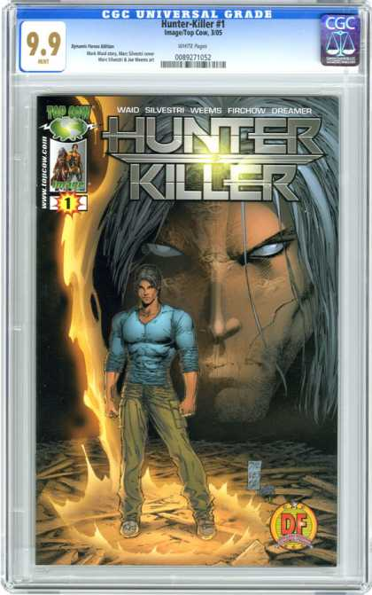 CGC Graded Comics - Hunter-Killer #1 (CGC)