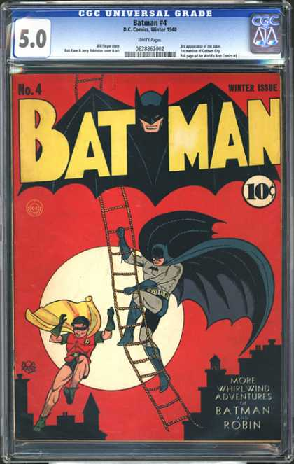 CGC Graded Comics - Batman #4 (CGC)