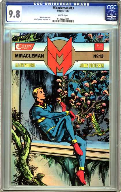 CGC Graded Comics - Miracleman #13 (CGC)