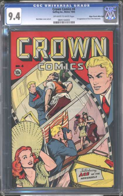 CGC Graded Comics - Crown Comics #4 (CGC)