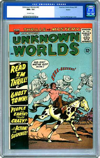 CGC Graded Comics - Unknown Worlds #42 (CGC)
