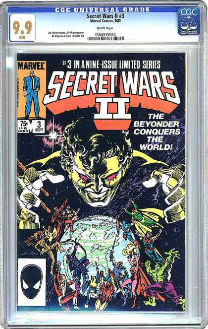 CGC Graded Comics - Secret Wars II #3 (CGC)