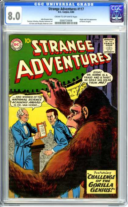 CGC Graded Comics - Strange Adventures #117 (CGC)