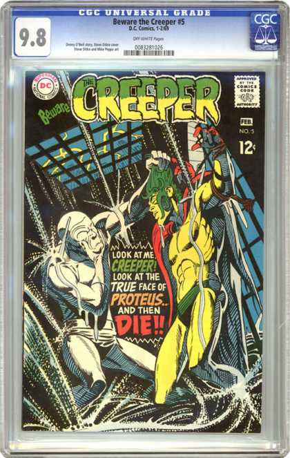 CGC Graded Comics - Beware the Creeper #5 (CGC)