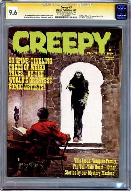 CGC Graded Comics - Creepy #3 (CGC)