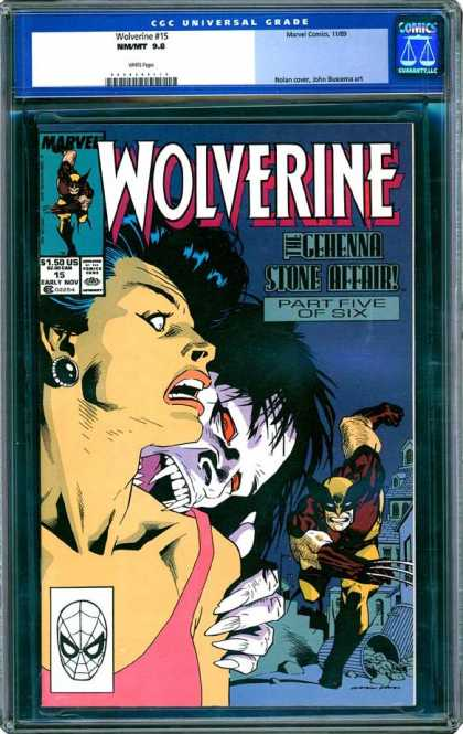 CGC Graded Comics - Wolverine #15 (CGC)