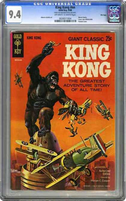 CGC Graded Comics - King Kong #nn (CGC) - Classics - Greatest - Story - Edition - Authorized
