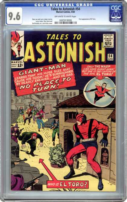 CGC Graded Comics - Tales to Astonish #54 (CGC)