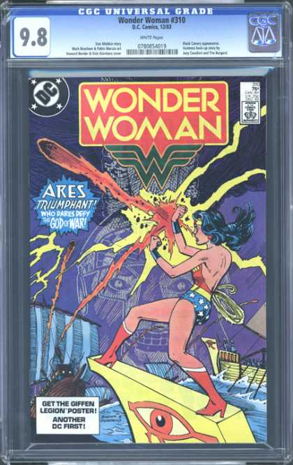 CGC Graded Comics - Wonder Woman #310 (CGC)
