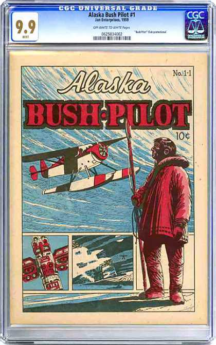 CGC Graded Comics - Alaska Bush Pilot #1 (CGC)