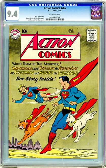 CGC Graded Comics - Action Comics #266 (CGC)