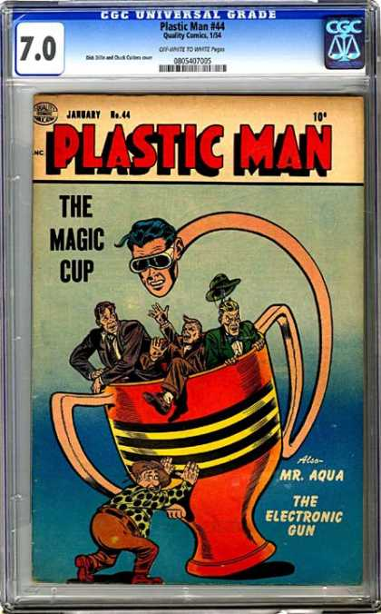 CGC Graded Comics - Plastic Man #44 (CGC)