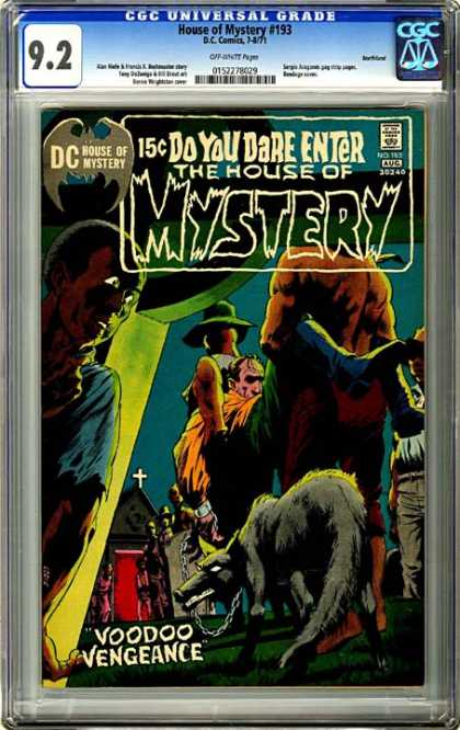 CGC Graded Comics - House of Mystery #193 (CGC) - Dc - House Of Mystery - No 143 - Aug - Voodoo Vengeance