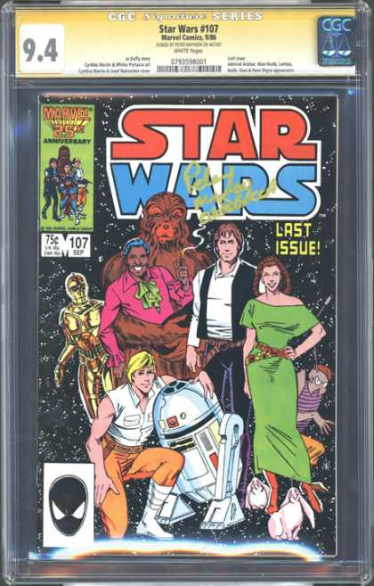 CGC Graded Comics - Star Wars #107 (CGC)