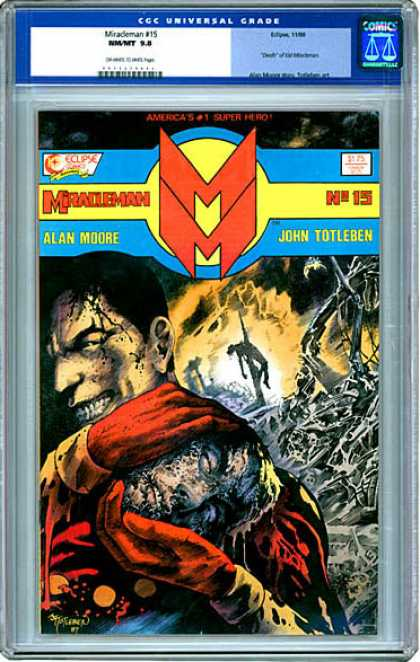 CGC Graded Comics - Miracleman #15 (CGC)