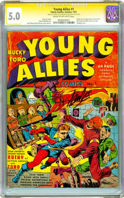 CGC Graded Comics - Young Allies #1 (CGC)