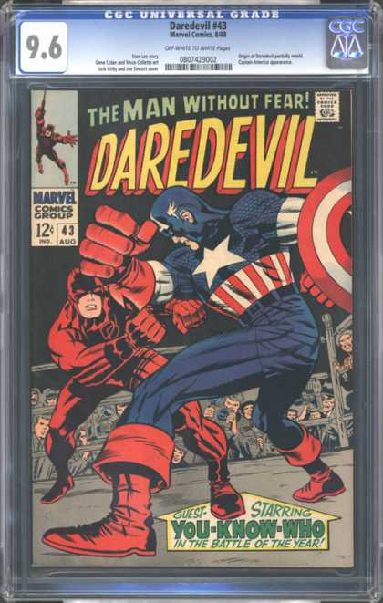 CGC Graded Comics - Daredevil #43 (CGC)