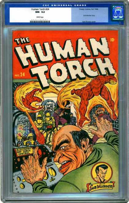 CGC Graded Comics - Human Torch #24 (CGC)