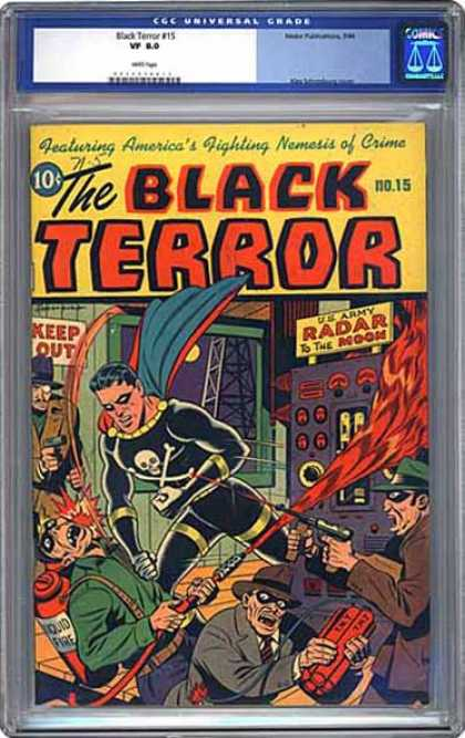 CGC Graded Comics - Black Terror #15 (CGC)