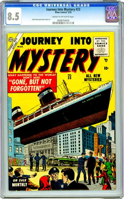 CGC Graded Comics - Journey into Mystery #23 (CGC)