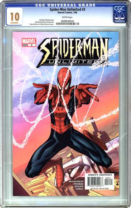 CGC Graded Comics - Spider-Man Unlimited #3 (CGC)