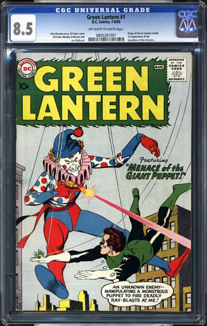 CGC Graded Comics - Green Lantern #1 (CGC)