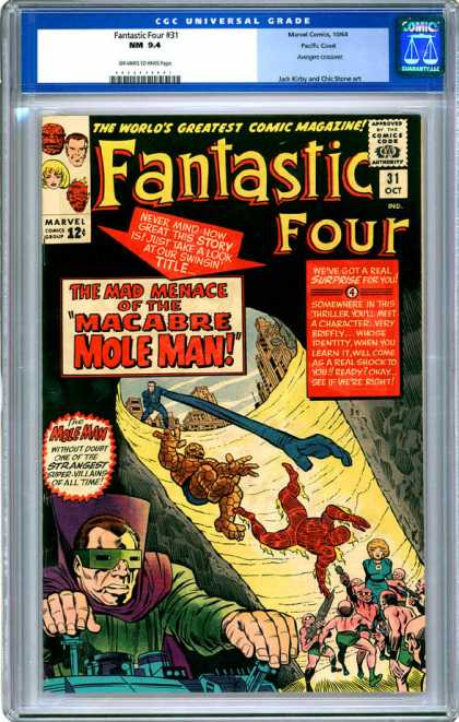 CGC Graded Comics - Fantastic Four #31 (CGC)