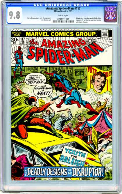 CGC Graded Comics - Amazing Spider-Man #117 (CGC)