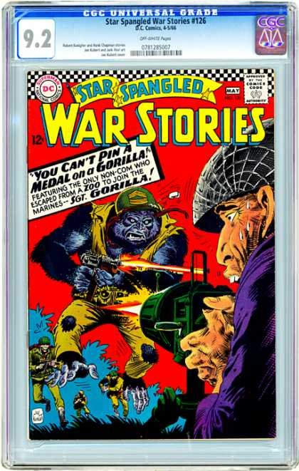 CGC Graded Comics - Star Spangled War Stories #126 (CGC)